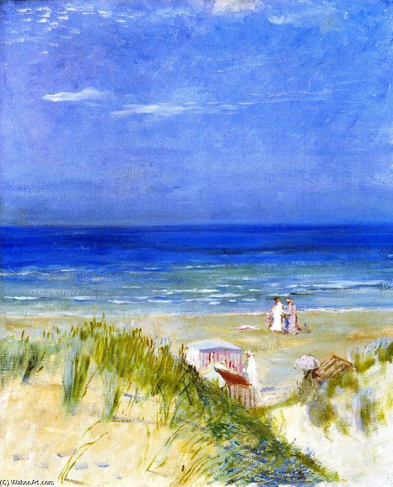 famous painting Sand Dunes, Ambleteuse of Charles Edward Conder