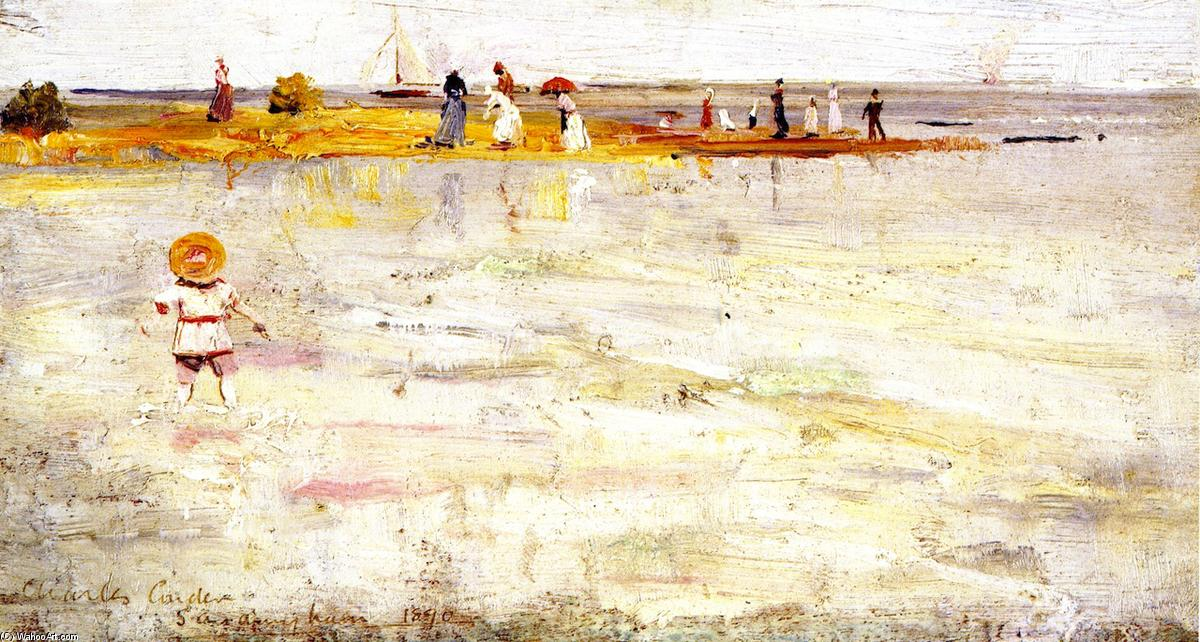 famous painting Sandringham of Charles Edward Conder