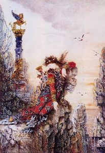 Gustave Moreau - Sappho on the Cliff
