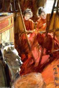Anders Leonard Zorn - The Schwartz Girls