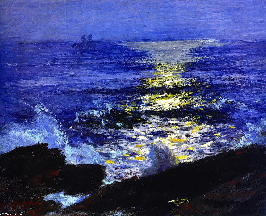 famous painting Seascape of Edward Henry Potthast