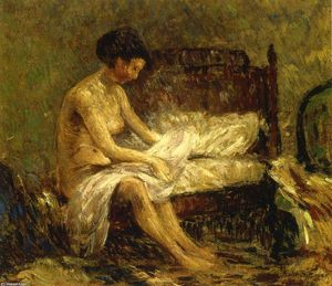 Robert Spencer - Seated Nude