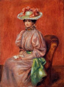 Pierre-Auguste Renoir - Seated Woman