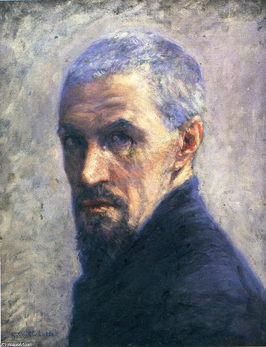 famous painting Self-Portrait of Gustave Caillebotte