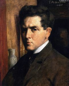 Julian Alden Weir - Self Portrait