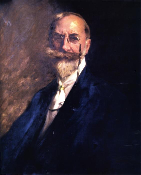 famous painting Self Portrait of William Merritt Chase