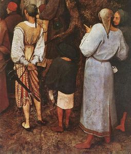 Pieter Bruegel The Elder - The Sermon of St John the Baptist (detail) (9)