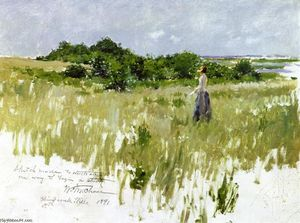 William Merritt Chase - Shinnecock Hills (also known as A View of Shinnecock)