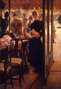 James Jacques Joseph Tissot - The Shop Girl