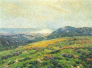 Granville Redmond - Silver and Gold