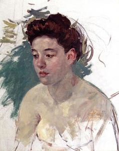 Mary Stevenson Cassatt - Sketch of Antoinette (no.1)