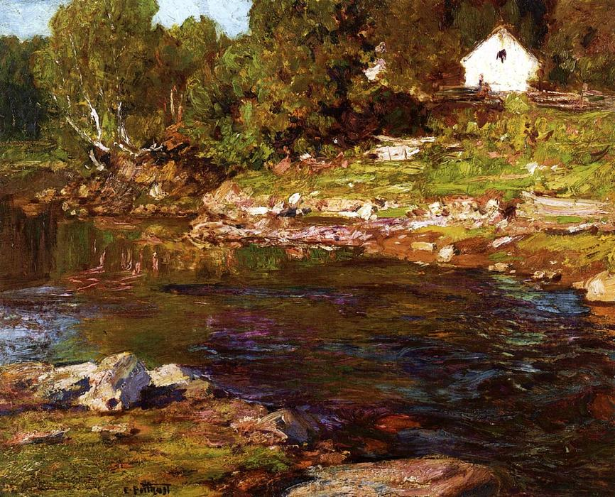 famous painting Souvenir of Canada of Edward Henry Potthast