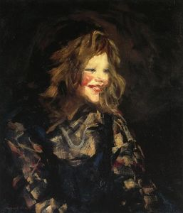 Robert Henri - Spanish Urchin (also known as Laugh Cheeks)