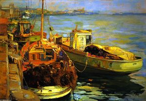 Franz Bischoff - San Pedro Fishing Boats