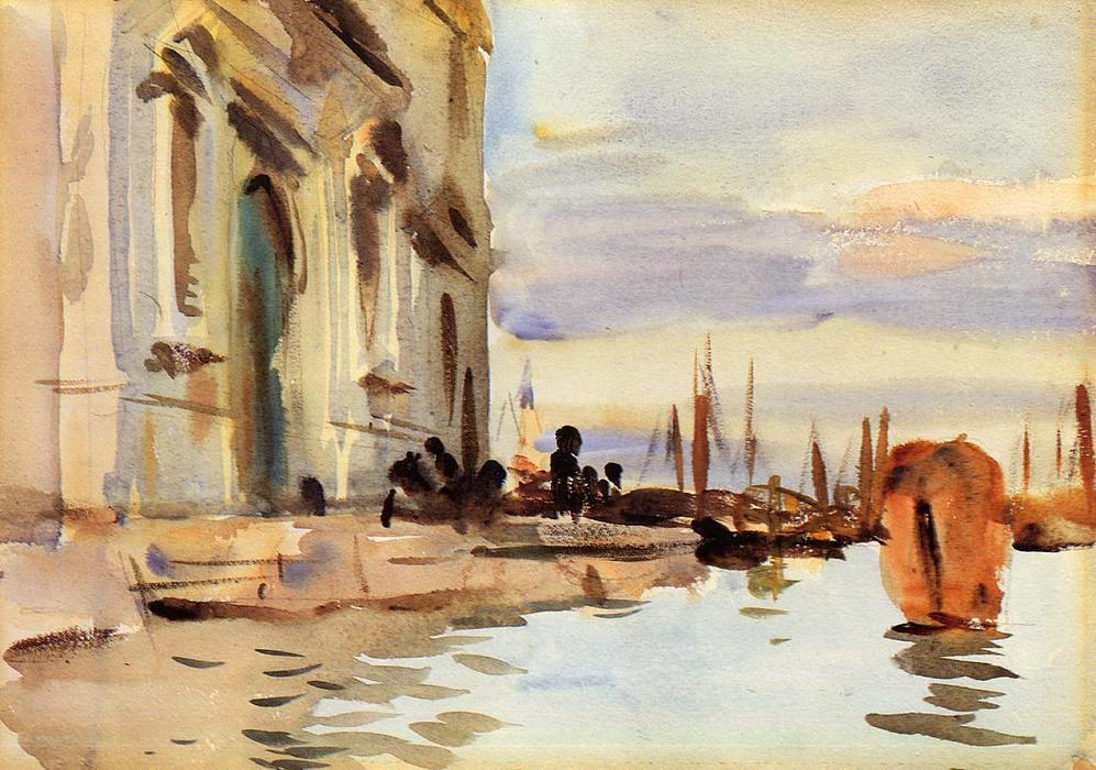 famous painting Spirito Santo, Saattera (also known as Venice, Zattere) of John Singer Sargent