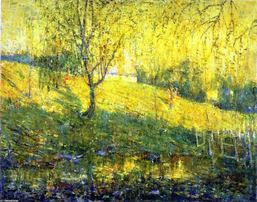 famous painting Spring Morning of Ernest Lawson
