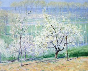 Guy Orlando Rose - Springtime in Normandy