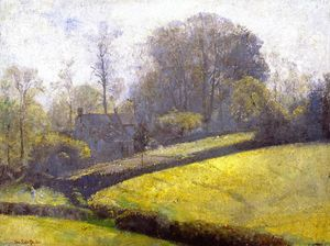 Thomas William Roberts - Springtime in Sussex