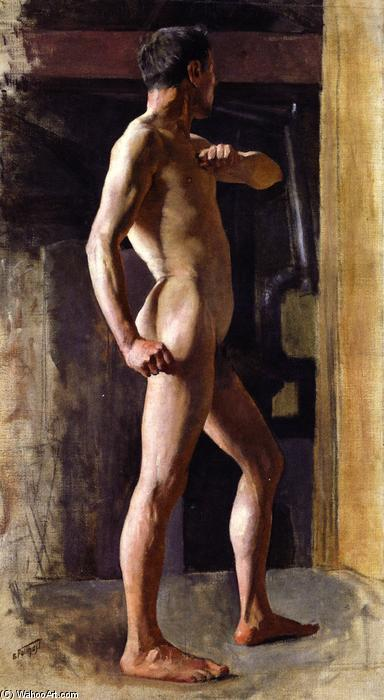 famous painting Standing Male Nude of Edward Henry Potthast