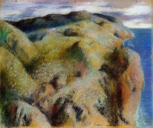 Edgar Degas - Steep Coast