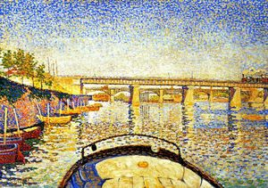 Paul Signac - Stern of the Boat, Opus 175