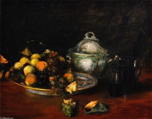 William Merritt Chase - Still LIfe: Fruit