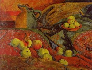 Paul Serusier - Still life with apples and jug