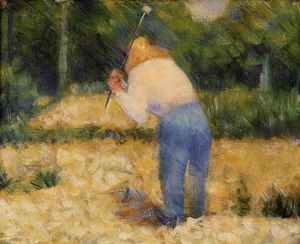 Georges Pierre Seurat - The Stone Breaker