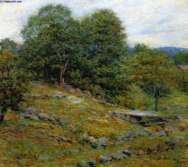 famous painting Stony Pasture of Robert Lewis Reid