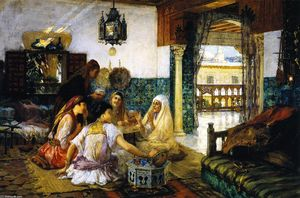 Frederick Arthur Bridgman - The Story (also known as In the Harem)