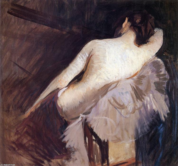 famous painting Study for The Venetian Bind'''' of Edmund Charles Tarbell