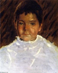 William Merritt Chase - Study of a Boy's Head (also known as Robert Stewart Chase)
