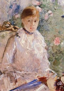 Berthe Morisot - Summer (also known as Young Woman by a Window)