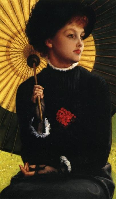 famous painting Summer (also known as L'Ete) of James Jacques Joseph Tissot