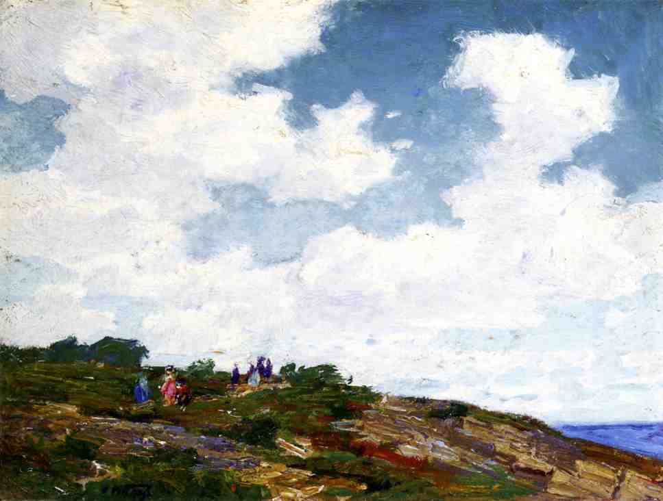 famous painting A Summer Day of Edward Henry Potthast