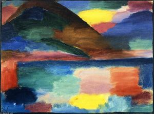 Alexej Georgewitsch Von Jawlensky - Summer Day in Ascona