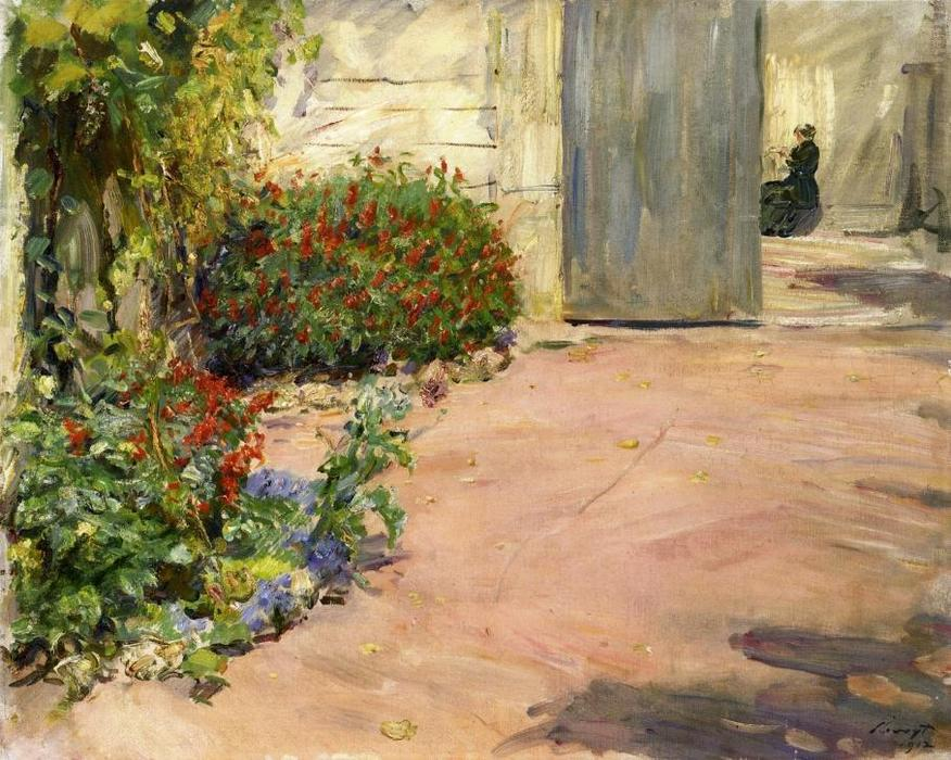 famous painting Summer House Garden of Max Slevogt