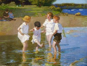 Edward Henry Potthast - Summer Joys