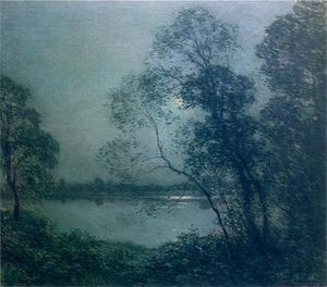 Willard Leroy Metcalf - Summer Night No. 3