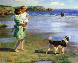 Edward Henry Potthast - Summer Pleasures