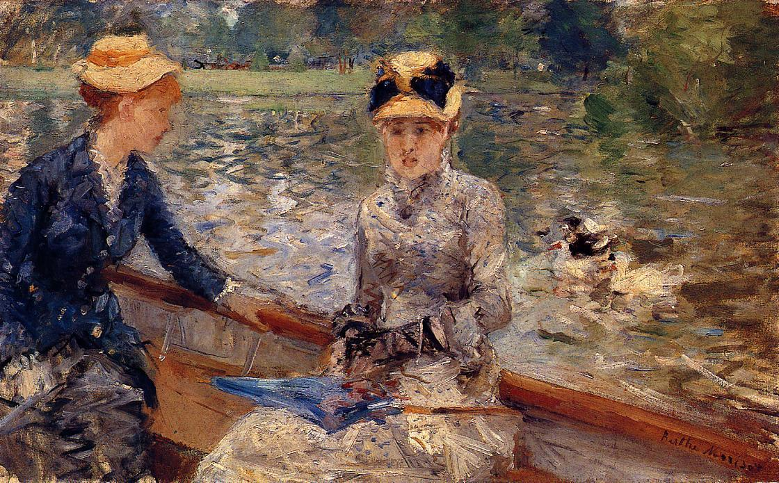 famous painting A Summer's Day of Berthe Morisot
