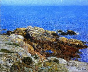 Frederick Childe Hassam - Summer Sea, Isles of Shoals
