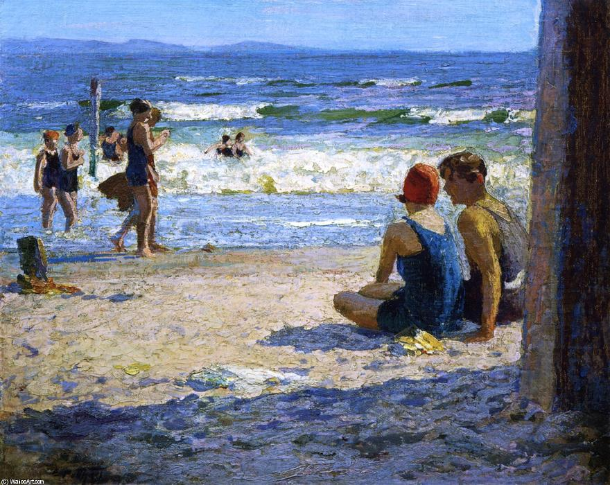 famous painting Sun and Shade of Edward Henry Potthast