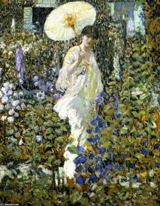 Frederick Carl Frieseke - Sun and Wind