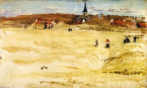 James Abbott Mcneill Whistler - Sunday at Domburg