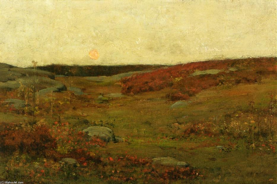 famous painting Sunrise - Autumn of Frederick Childe Hassam