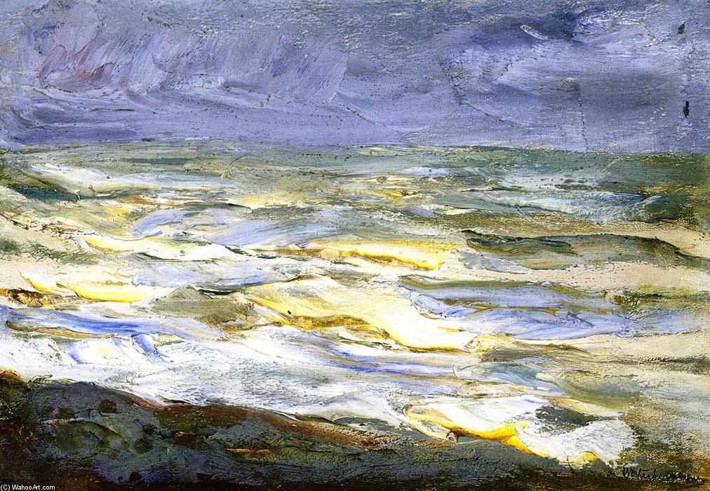 famous painting Surf - Marine Study of Max Liebermann