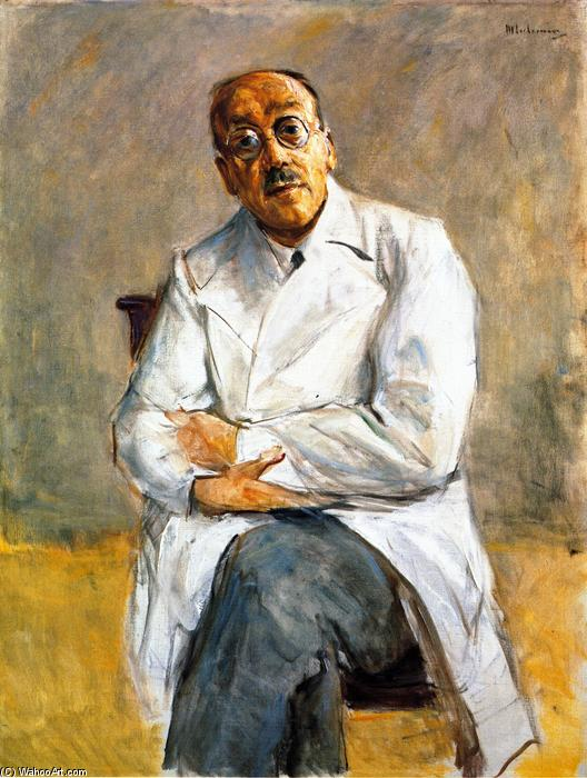 famous painting The Surgeon Dr. Ferdinand Sauerbruch of Max Liebermann