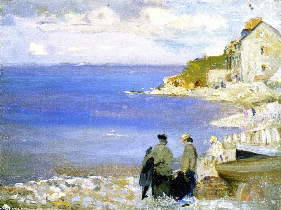 famous painting Swnage of Charles Edward Conder