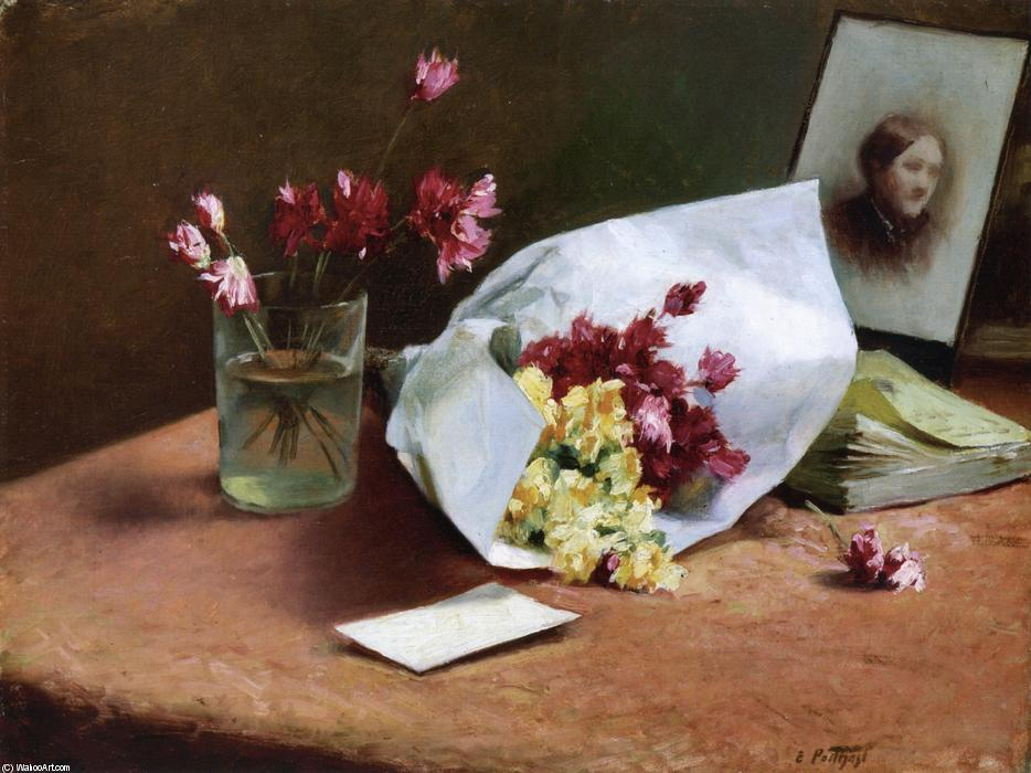 famous painting Table Top Still Life of Edward Henry Potthast